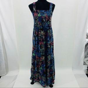 Style & Co. Multi Color Floral Maxi Dress